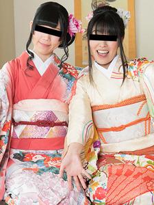 新春乱交2019|須藤なこ 森咲かほ[素人]<天然むすめ>