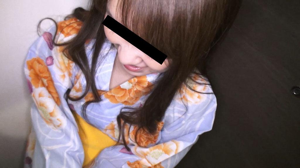 沢村まさこ:浴衣っ娘にフェラ抜きしてもらいました【10musume】